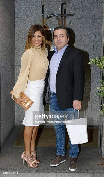 Yvonne Reyes attends the Fiona Ferrer's 40th Birthday at Loft 39 restaurant on September 21 2014 in Madrid Spain