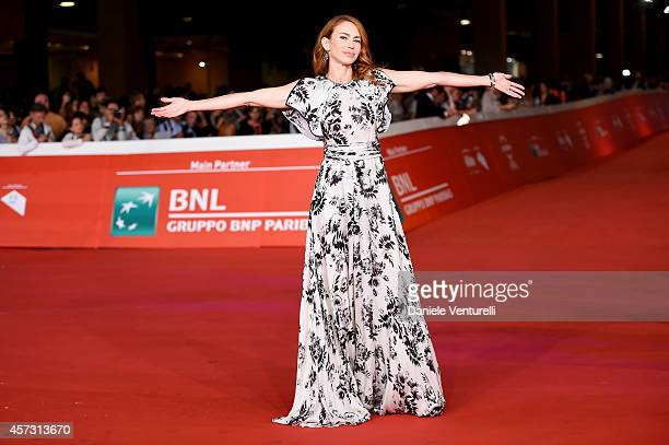 Yvonne Scio attends the Rome Film Festival Opening and 'Soap Opera' Red Carpet during the 9th Rome Film Festival at Auditorium Parco Della Musica on...