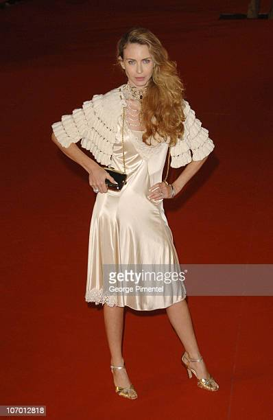 Yvonne scio during 1st Annual Rome Film Festival 'Fur An Imaginary Portrait of Diane Arbus' Opening Night Gala at Auditorium in Rome Italy