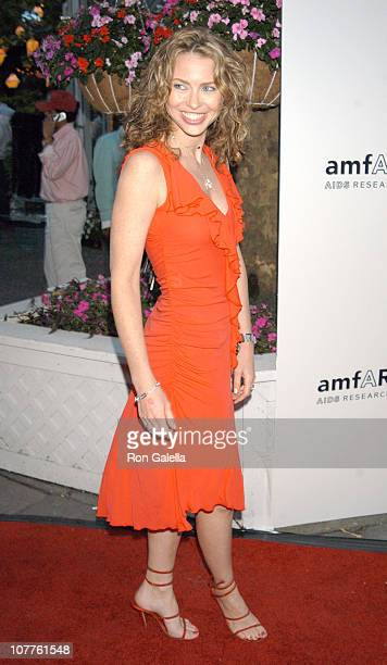 Yvonne Scio during amfAR's 12th Annual 'Boathouse Rock' Party Arrivals at Tavern on the Green in New York City New York United States