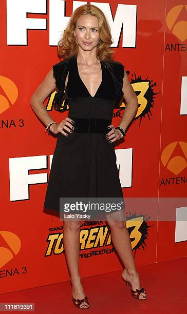 Yvonne Scio during 'Torrente 3' Madrid Premiere at Palacio de la Musica Cinema in Madrid Spain