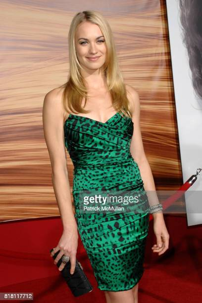 Yvonne Strahovski attends TANGLED World Premiere at El Capitan Theatre on November 14 2010 in Hollywood California