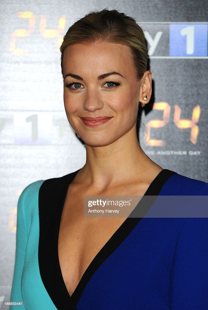 Yvonne Strahovski attends the UK premiere of '24: Live Another Day' at Old Billingsgate Market on May 6, 2014 in London, England.