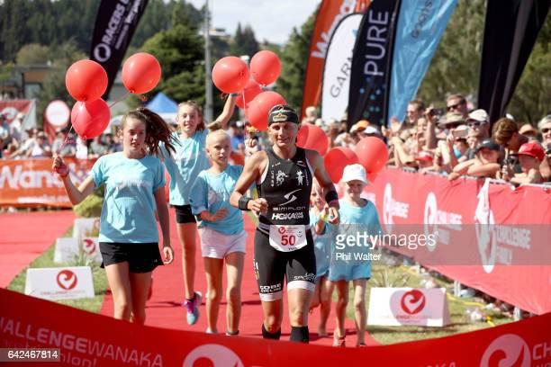 Yvonne van Vlerken of Austria wins the 2017 Challenge Wanaka on February 18 2017 in Wanaka New Zealand