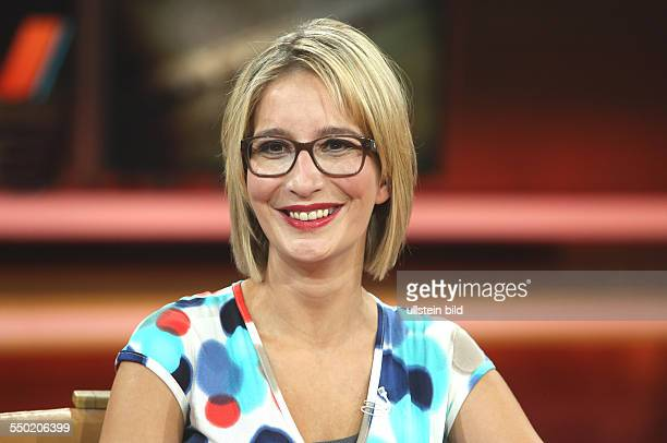 Yvonne Willicks in der ARDTalkshow 'GÜNTHER JAUCH' in Berlin