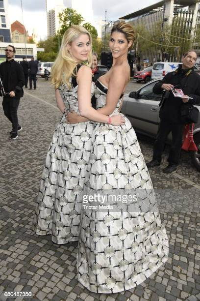 Yvonne Woelke and Micaela Schaefer attend the Victress Awards Gala 2017 on May 8 2017 in Berlin Germany