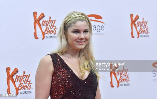 Yvonne Woelke attends 'Kinky Boots' Premiere at Stage Operettenhaus on December 3 2017 in Hamburg Germany