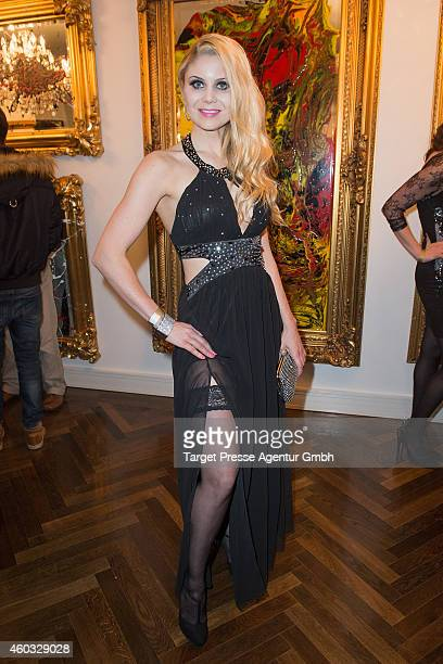 Yvonne Woelke attends the Gloeoeckler Magazine Launch on December 11 2014 in Berlin Germany