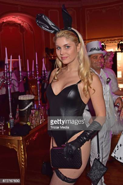 Yvonne Woelke attends the 'Night Of The Dead Stars' Masquerade Ball at Schloss Marquardt on November 10 2017 in Potsdam Germany