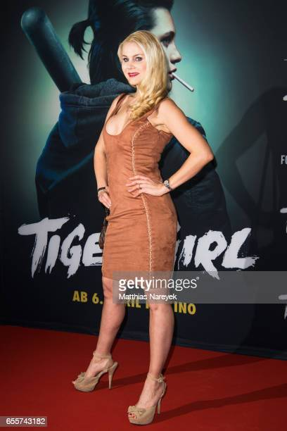 Yvonne Woelke attends the premiere of the film 'Tiger Girl' at Zoo Palast on March 20 2017 in Berlin Germany