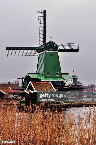 Zaanse Schans Dutch Windmills
