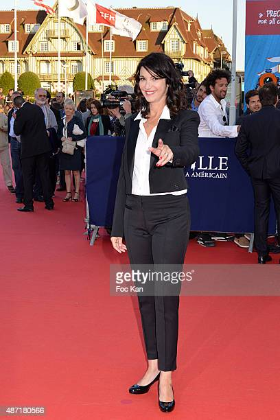 Zabou Breitman attends the 'Jamais Entre Amis' Premiere during the 41st Deauville American Film Festival on September 6 2015 in Deauville France