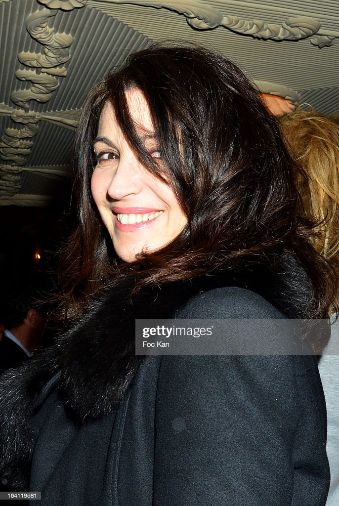 <a gi-track='captionPersonalityLinkClicked' href=/galleries/search?phrase=Zabou+Breitman&family=editorial&specificpeople=588305 ng-click='$event.stopPropagation()'>Zabou Breitman</a> attends the Sushi Shop's Box Endorsed By Kate Moss Launch At La Nouvelle Eve Cabaret on March19, 2013 in Paris, France.