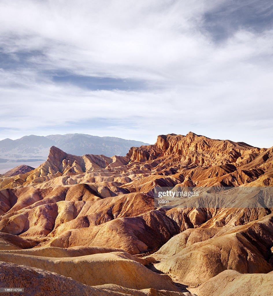 Zabriskie Point in Death Valley National Park