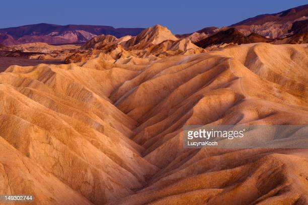 Zabriskie Point Ridges