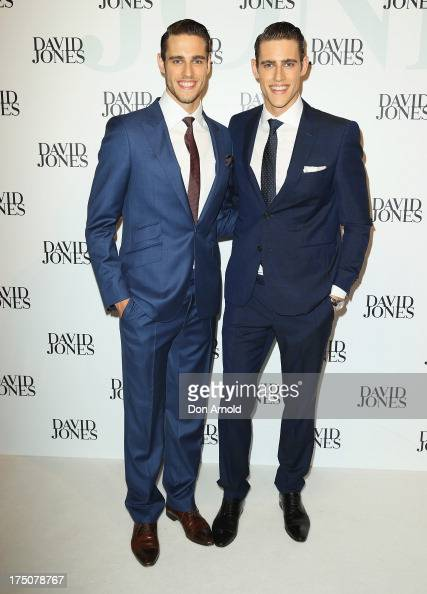 Zac And Jordan Stenmark arrive at the David Jones Spring/Summer 2013 Collection Launch at David Jones Elizabeth Street on July 31 2013 in Sydney...