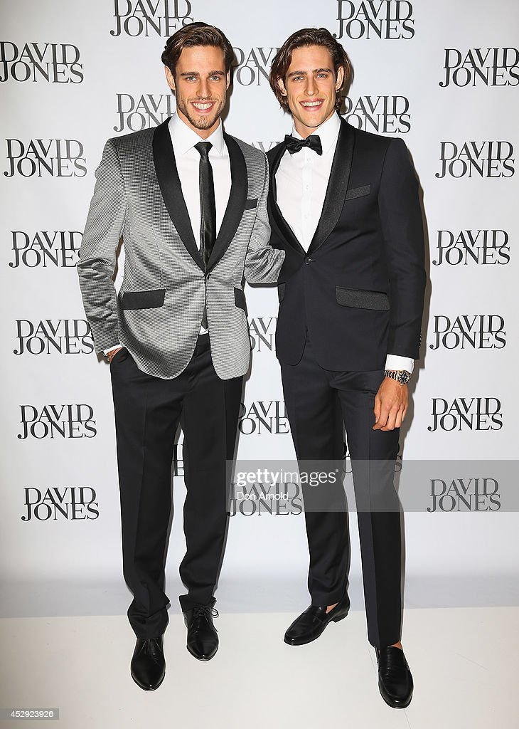 Zac and <a gi-track='captionPersonalityLinkClicked' href=/galleries/search?phrase=Jordan+Stenmark&family=editorial&specificpeople=8682038 ng-click='$event.stopPropagation()'>Jordan Stenmark</a> arrive at the David Jones Spring/Summer 2014 Collection Launch at David Jones Elizabeth Street Store on July 30, 2014 in Sydney, Australia.