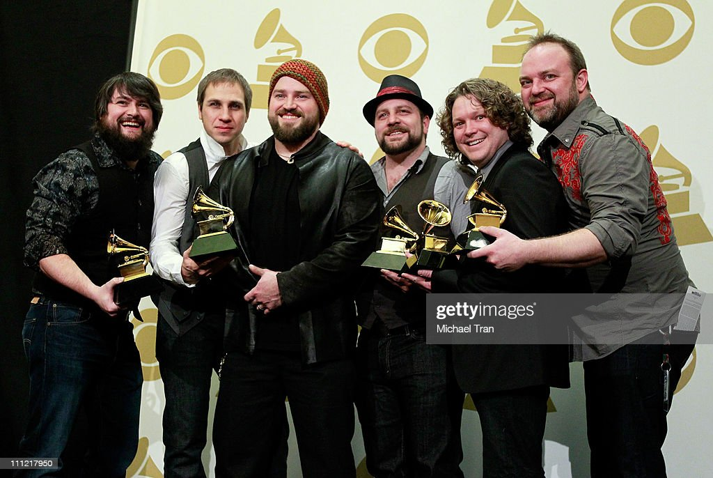 <a gi-track='captionPersonalityLinkClicked' href=/galleries/search?phrase=Zac+Brown+Band&family=editorial&specificpeople=5796430 ng-click='$event.stopPropagation()'>Zac Brown Band</a> poses in the press room at the 52nd Annual GRAMMY Awards held at Staples Center on January 31, 2010 in Los Angeles, California.