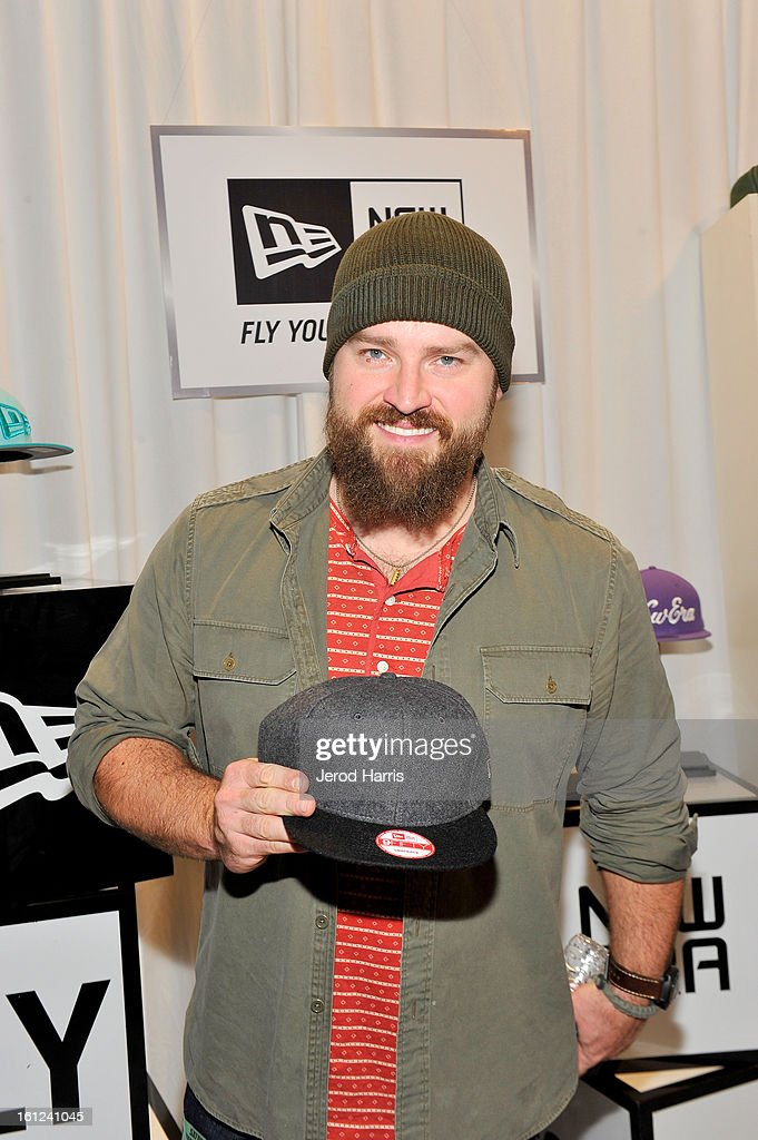 Zac Brown of the Zac Brown Band attends the GRAMMY Gift Lounge during the 55th Annual GRAMMY Awards at STAPLES Center on February 9, 2013 in Los Angeles, California.