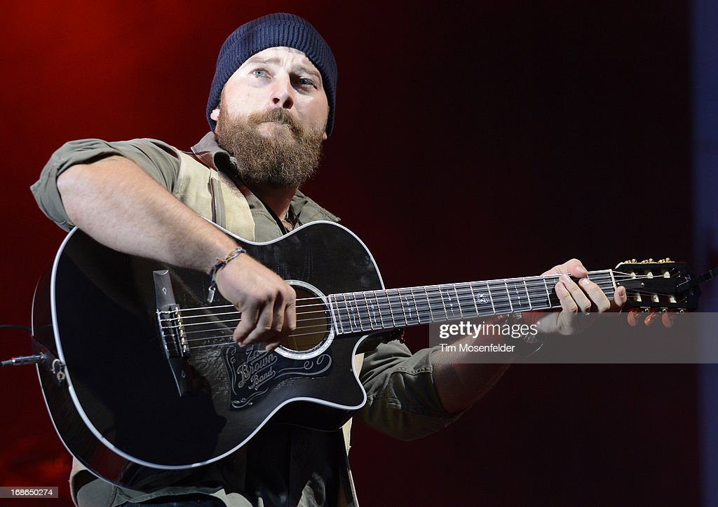 Zac Brown of the Zac Brown Band performs as part of the Bottle Rock Music Festival at the Napa Expo on May 12, 2013 in Napa, California.