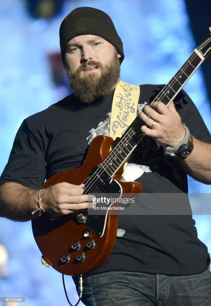 Zac Brown of the Zac Brown Band performs as part of the Stagecoach Music Festival at the Empire Polo Grounds on April 28, 2013 in Indio, California.