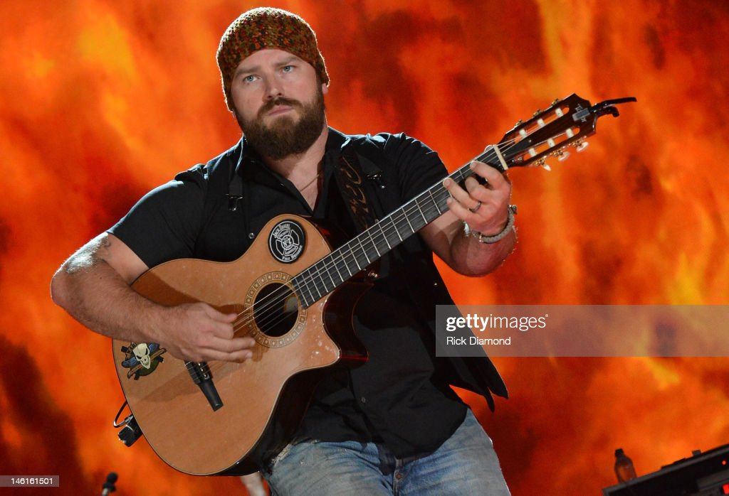 Zac Brown of The Zac Brown Band performs during the 2012 CMA Music Festival - Day 1 at LP Field on June 7, 2012 in Nashville, Tennessee.