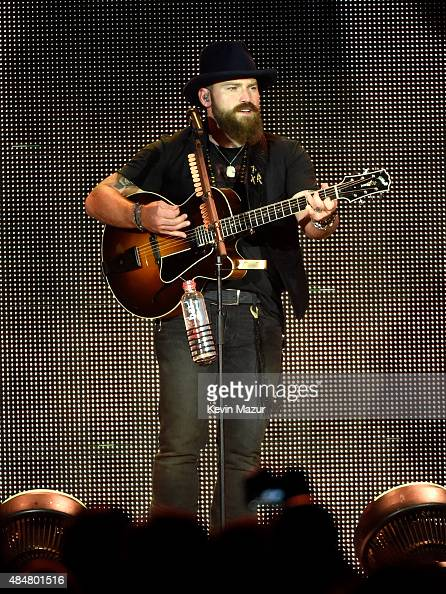 Zac Brown performs at Citi Field on August 21 2015 in the Queens borough of New York City