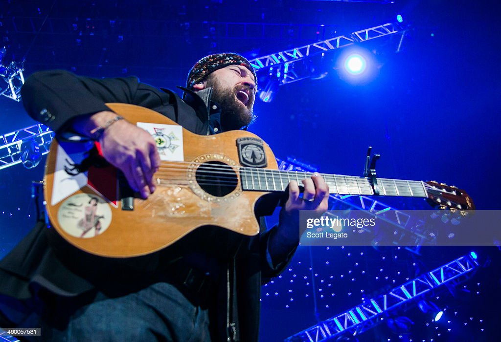 <a gi-track='captionPersonalityLinkClicked' href=/galleries/search?phrase=Zac+Brown+-+Singer&family=editorial&specificpeople=6705520 ng-click='$event.stopPropagation()'>Zac Brown</a> performs at Joe Louis Arena on January 1, 2014 in Detroit, Michigan.