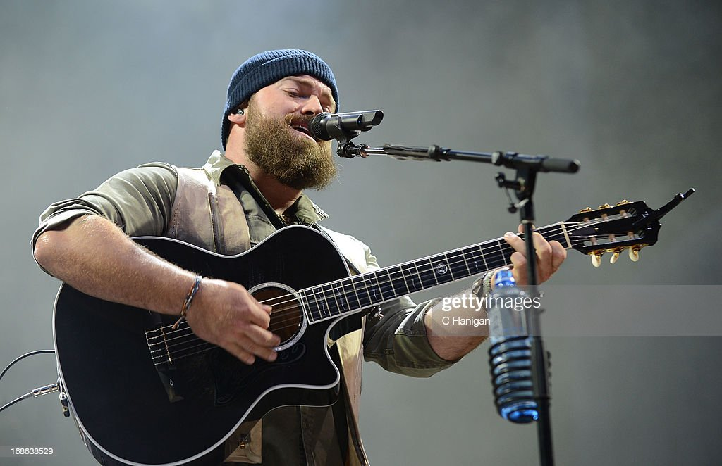 Zac Brown performs during the 2103 Bottle Rock Music Festival on May 12, 2013 in Napa, California.