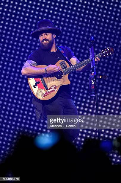 Zac Brown perfroms at KFC YUM Center on December 10 2015 in Louisville Kentucky