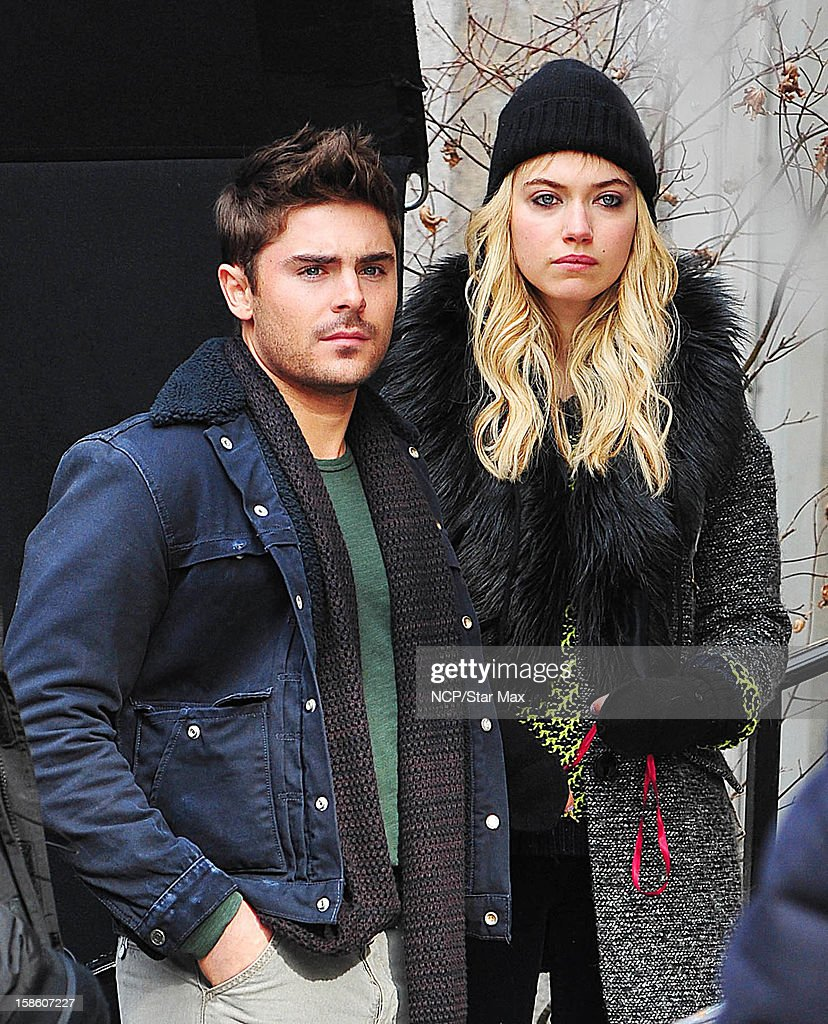 <a gi-track='captionPersonalityLinkClicked' href=/galleries/search?phrase=Zac+Efron&family=editorial&specificpeople=533070 ng-click='$event.stopPropagation()'>Zac Efron</a> and Imogen Poots as seen on December 20, 2012 in New York City.