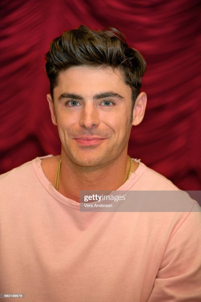 Zac Efron at the 'Baywatch' Press Conference at the Faena Hotel on May 14, 2017 in Miami, Florida.
