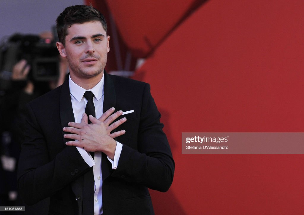 <a gi-track='captionPersonalityLinkClicked' href=/galleries/search?phrase=Zac+Efron&family=editorial&specificpeople=533070 ng-click='$event.stopPropagation()'>Zac Efron</a> attends the 'At Any Price' premiere at the 69th Venice Film Festival on August 31, 2012 in Venice, Italy.