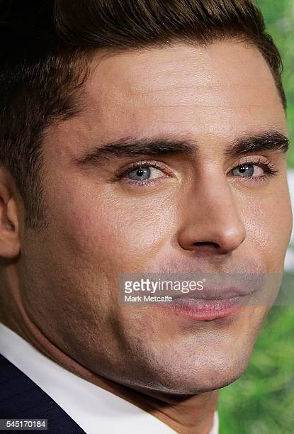 Zac Efron attends the Mike And Dave Need Wedding Dates fan premiere at Event Cinemas Parramatta on July 6 2016 in Sydney Australia