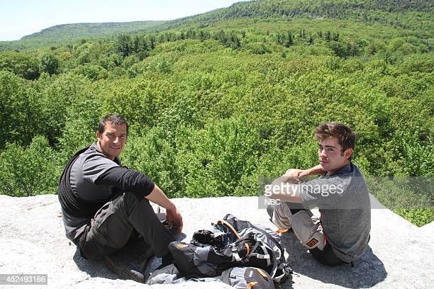 GRYLLS 'Zac Efron' Episode 103 Pictured Bear Grylls Zac Efron Photo by