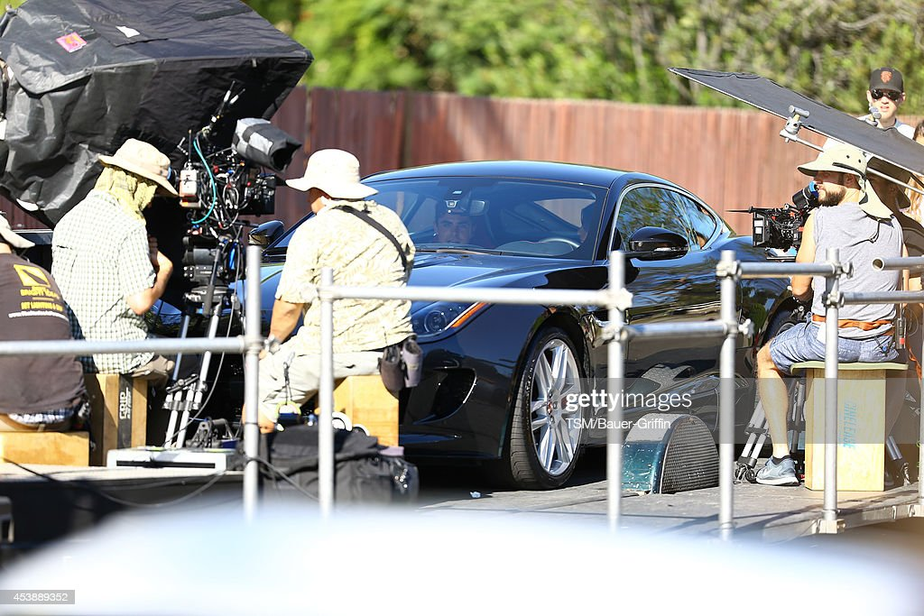 <a gi-track='captionPersonalityLinkClicked' href=/galleries/search?phrase=Zac+Efron&family=editorial&specificpeople=533070 ng-click='$event.stopPropagation()'>Zac Efron</a> is seen filming 'We Are Your Friends' on August 20, 2014 in Los Angeles, California.