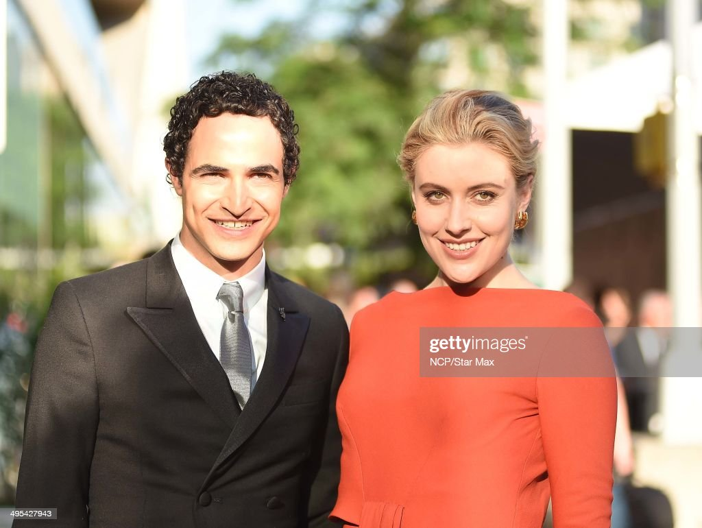 Zac Posen and Greta Gerwig is seen on June 2, 2014 arriving at The 2014 CFDA Fashion Awards in New York City.