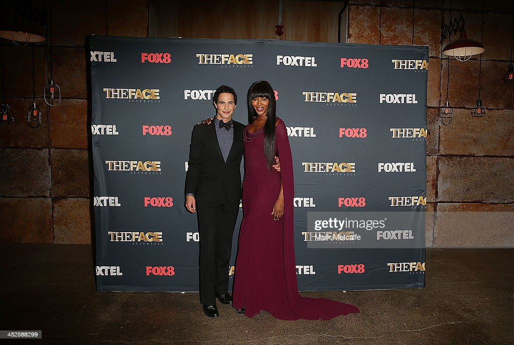 Zac Posen and <a gi-track='captionPersonalityLinkClicked' href=/galleries/search?phrase=Naomi+Campbell&family=editorial&specificpeople=171722 ng-click='$event.stopPropagation()'>Naomi Campbell</a> pose during a photo call for Australian TV show, 'The Face of Australia' at Carriage Works on November 30, 2013 in Sydney, Australia.