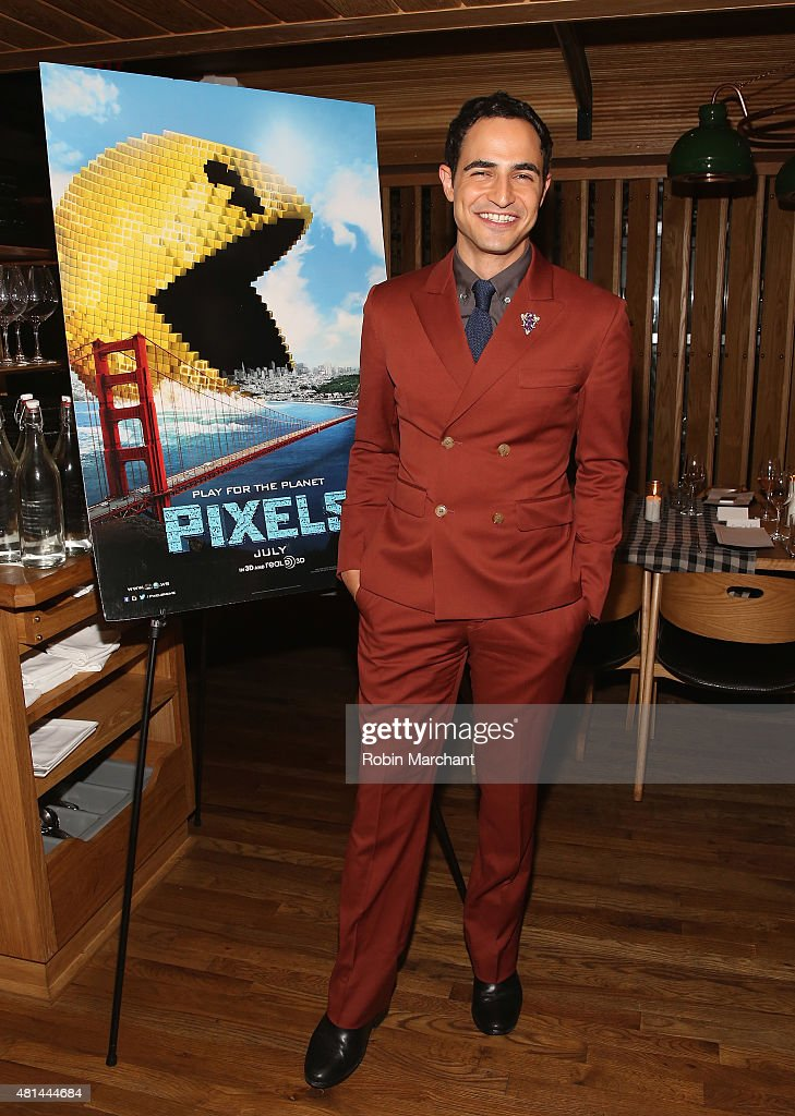 Zac Posen attends a Dinner Honoring The Women Of 'Pixels' at Upland on July 20 2015 in New York City