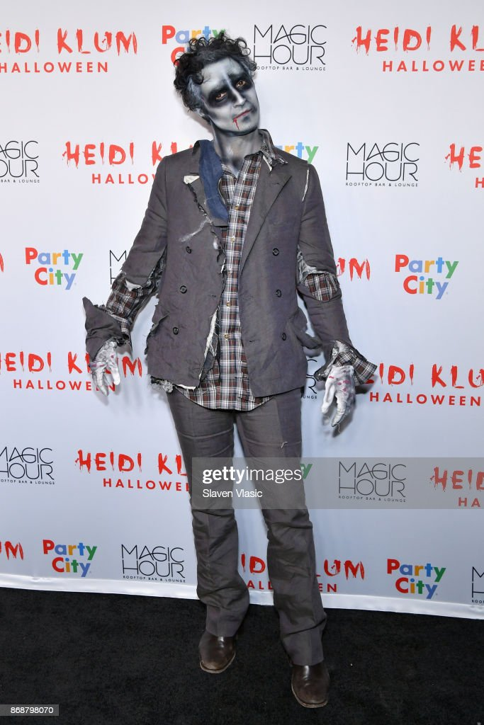 Zac Posen attends Heidi Klum's 18th annual Halloween Party presented by Party City at the Magic Hour Rooftop Bar & Lounge on October 31, 2017 in New York City.