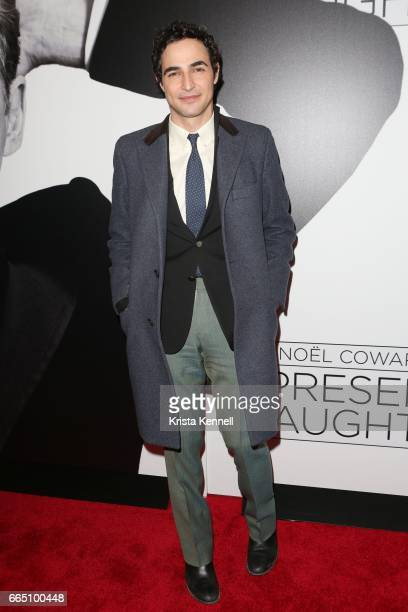 Zac Posen attends 'Present Laughter' opening night at St James Theatre on April 5 2017 in New York City