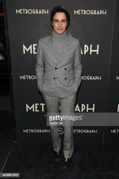 Zac Posen attends the Metrograph 1st Year Anniversary Party at Metrograph on March 8 2017 in New York City