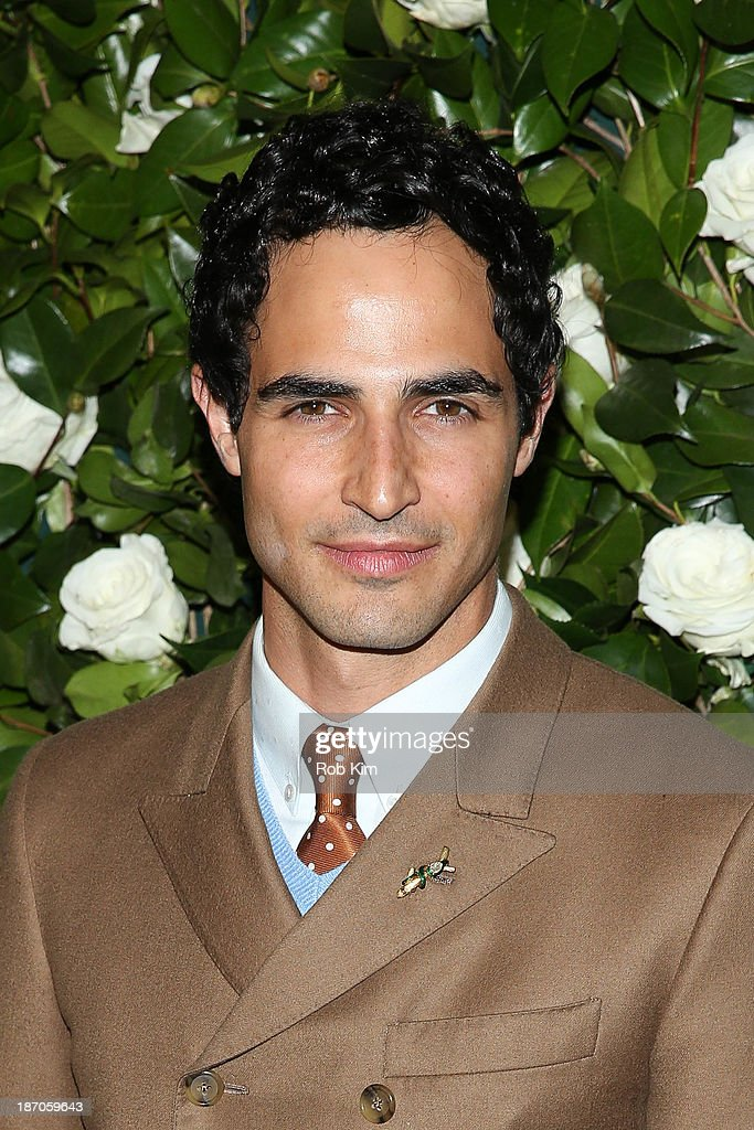Zac Posen attends the Museum of Modern Art 2013 Film benefit: A Tribute To Tilda Swinton on November 5, 2013 in New York City.
