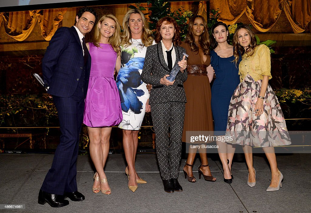 <a gi-track='captionPersonalityLinkClicked' href=/galleries/search?phrase=Zac+Posen+-+Fashion+Designer&family=editorial&specificpeople=4442066 ng-click='$event.stopPropagation()'>Zac Posen</a>, <a gi-track='captionPersonalityLinkClicked' href=/galleries/search?phrase=Claire+Danes&family=editorial&specificpeople=202666 ng-click='$event.stopPropagation()'>Claire Danes</a>, <a gi-track='captionPersonalityLinkClicked' href=/galleries/search?phrase=Nancy+Dubuc&family=editorial&specificpeople=2219522 ng-click='$event.stopPropagation()'>Nancy Dubuc</a>, <a gi-track='captionPersonalityLinkClicked' href=/galleries/search?phrase=Susan+Sarandon&family=editorial&specificpeople=202474 ng-click='$event.stopPropagation()'>Susan Sarandon</a>, <a gi-track='captionPersonalityLinkClicked' href=/galleries/search?phrase=Iman+-+Fashion+Model&family=editorial&specificpeople=132463 ng-click='$event.stopPropagation()'>Iman</a>, <a gi-track='captionPersonalityLinkClicked' href=/galleries/search?phrase=Idina+Menzel&family=editorial&specificpeople=213583 ng-click='$event.stopPropagation()'>Idina Menzel</a> and <a gi-track='captionPersonalityLinkClicked' href=/galleries/search?phrase=Sarah+Jessica+Parker&family=editorial&specificpeople=201693 ng-click='$event.stopPropagation()'>Sarah Jessica Parker</a> attend Variety Power Of Women: New York presented by FYI at Cipriani 42nd Street on April 25, 2014 in New York City.