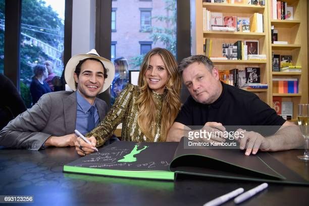 Zac Posen Heidi Klum And Rankin celebrate Heidi Klum By Rankin at Bookmarc on June 6 2017 in New York City