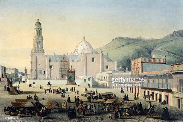 Zacatecas Cathedral Mexico 19th century