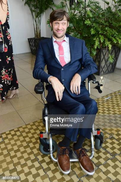 Zach Anner at the 2017 Streamy Awards at The Beverly Hilton Hotel on September 26 2017 in Beverly Hills California