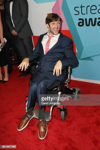 Zach Anner attends the 7th Annual 2017 Streamy Awards at The Beverly Hilton Hotel on September 26 2017 in Beverly Hills California
