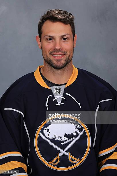 Zach Bogosian of the Buffalo Sabres poses for his official headshot of the 20162017 season on September 22 2016 at the KeyBank Center in Buffalo New...