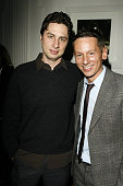 Zach Braff and Jim Nelson Editor in Chief of GQ during GQ Magazine Honors Golden Globe Nominees Benefiting American Cinematheque Inside at GM...